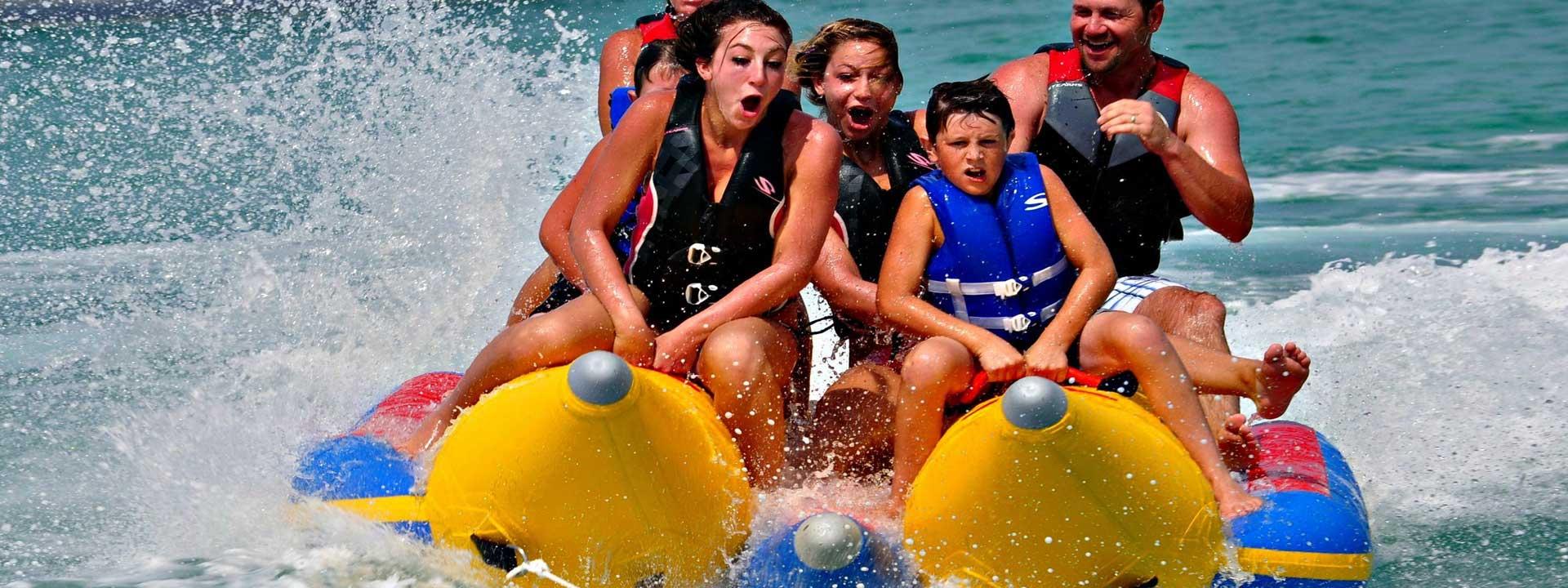 Parasailing at Sunshine Water sports Destin